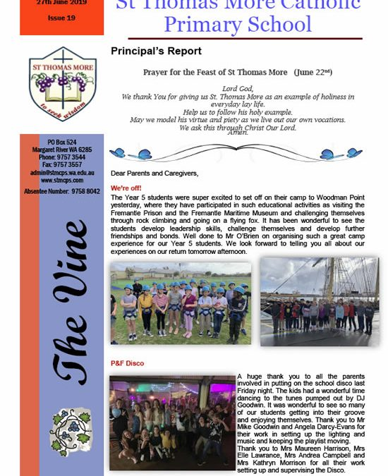 The Vine 2019 – Issue 19